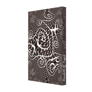 Pattern 1 Wrapped Canvas Stretched Canvas Prints
