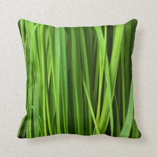 pattern #29- grasses throw pillow