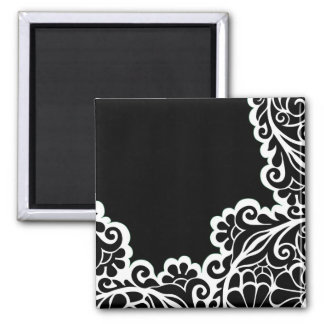 pattern 2 inch square magnet