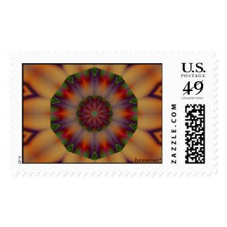 Pattern 49 postage stamp
