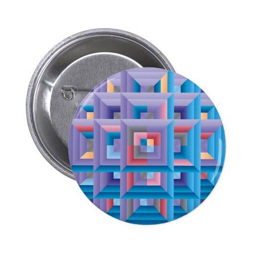 Pattern 4 2 inch round button