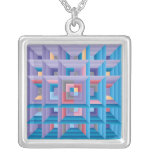 Pattern 4 Quilt Custom Necklace