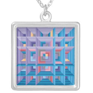 Pattern 4 Quilt necklace
