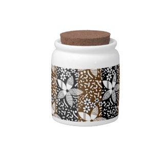 pattern 50 candy jar