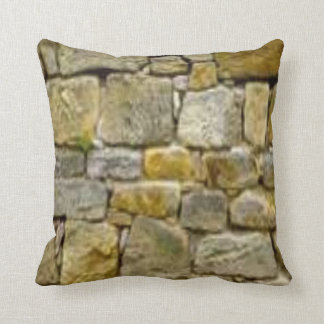 Pattern #51-wall stone throw pillow