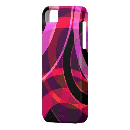 PATTERN-5 [atmospheric design circle], Cases II iPhone 5 Case-Mate Funda