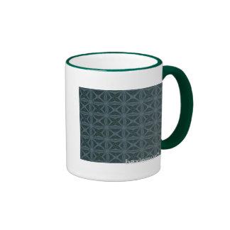 Pattern 91 ringer mug