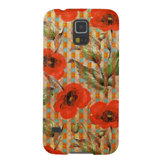 Pattern 946 Poppy Galaxy S5 Cover