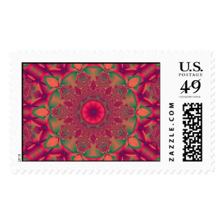 Pattern 99 postage stamps