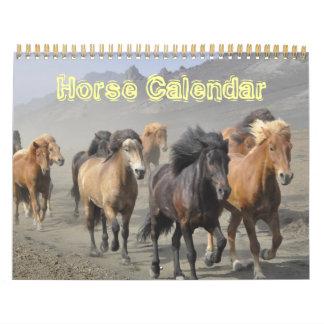 Pattern Animal Office Horse Peace Love Destiny Calendars