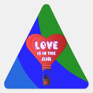 Pattern Art Digital Rainbow Peace Personalize Art Triangle Sticker