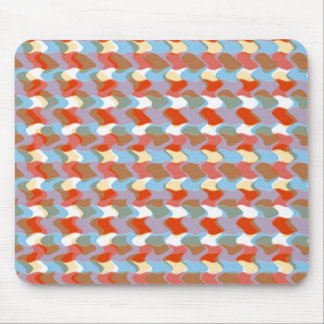 PATTERN artistic:  Red Blue Yellow: Add Greeting Mouse Pad