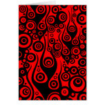 Pattern ARTs - Tattoo circle flames | fire red Card