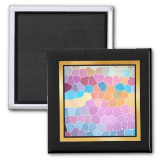 Pattern Artwork or Photo Magnet