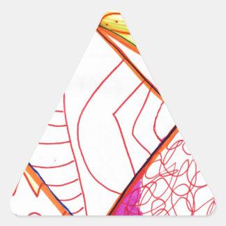 Pattern Augment in Study Triangle Sticker