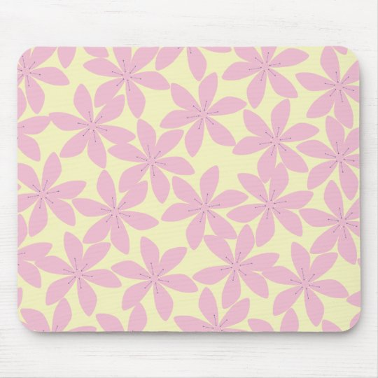 Pattern background mouse pad