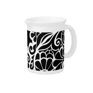 pattern beverage pitchers