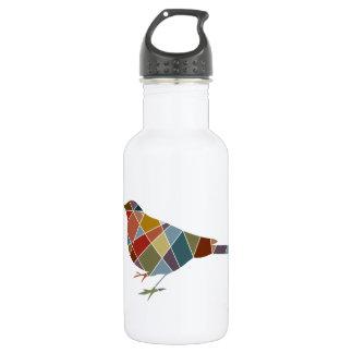 Pattern Bird Stainless Steel Water Bottle