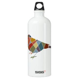 Pattern Bird Water Bottle