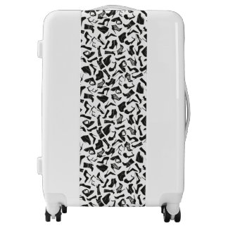 Pattern black Women's shoes Luggage