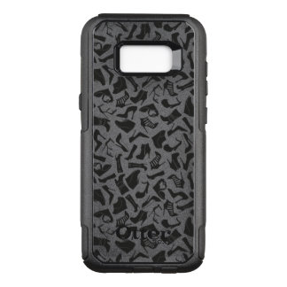 Pattern black Women's shoes OtterBox Commuter Samsung Galaxy S8+ Case