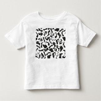 Pattern black Women's shoes Toddler T-shirt