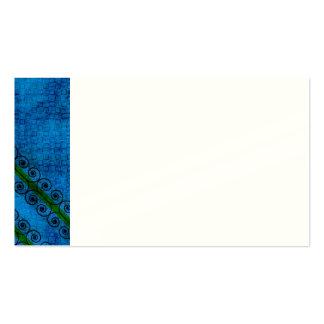Pattern Blue 1 Plantillas De Tarjeta De Negocio