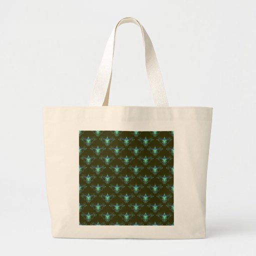 Pattern_Blue_Butterfly #05 Tote Bag