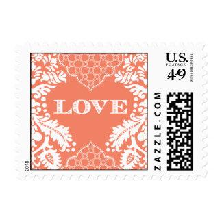 Pattern - Brocade Love - Pink Stamp