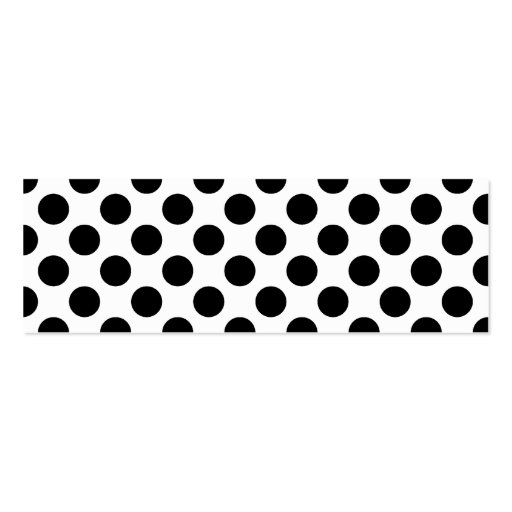 Pattern Double-Sided Mini Business Cards (Pack Of 20)