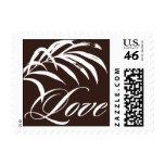Pattern - Cabana Love - Brown Postage