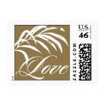 Pattern - Cabana Love - Gold Postage