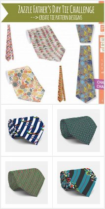 Pattern Camp Challenge: Ties