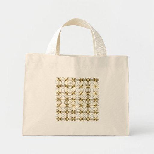 pattern canvas bag
