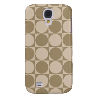 Pattern Circles In Squares Iphone 3 3g Speck Case Samsung Galaxy S4 Cover