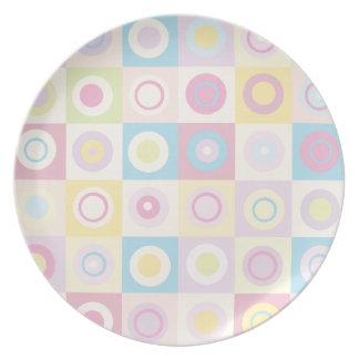 Pattern Circles Party Plates