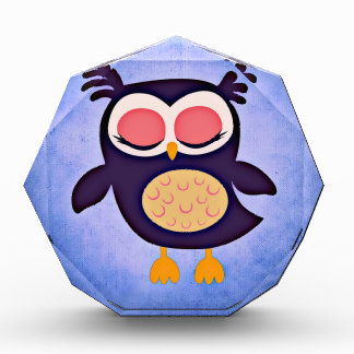 pattern colorful friend family office home art owl award