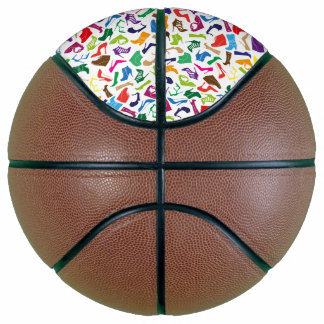 Pattern colorful Women's shoes Basketball