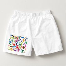 Pattern colorful Women's shoes Boxers