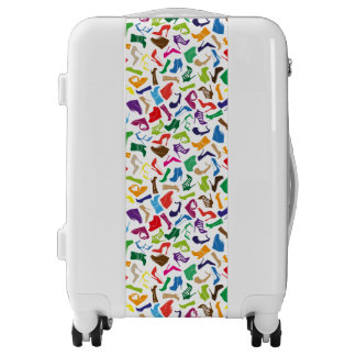 Pattern colorful Women's shoes Luggage