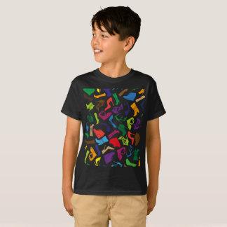 Pattern colorful Women's shoes T-Shirt