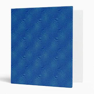 pattern composing blue binder