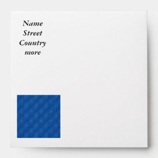 pattern composing blue envelopes