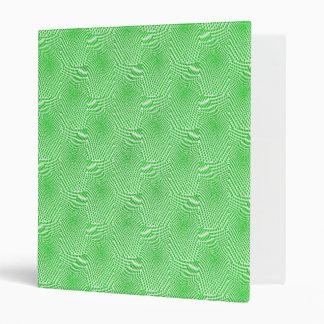 pattern composing green vinyl binder