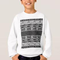 pattern cool sweatshirt