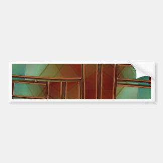 Pattern crated by Tutti Bumper Sticker