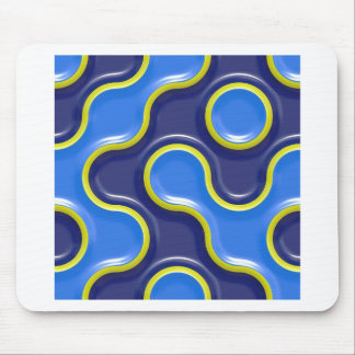 Pattern Curve Design Seamless Texture Backdrop Mouse Pad