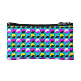 PATTERN D COSMETIC BAG