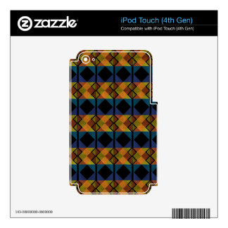 Pattern D Decal For iPod Touch 4G