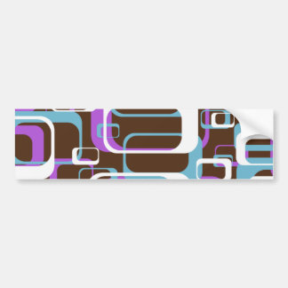 Pattern Design Bumper Sticker